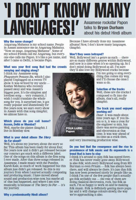 11_Papon - TSSF - Bombay Times, Mumbai - 13th January 2012